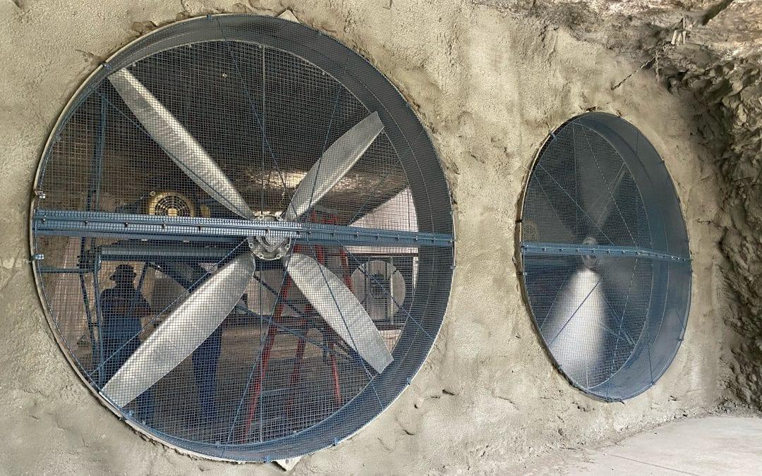 Mine Ventilation Upgrade